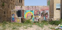 סיור גרפיטי בשכונת וואדי סאליב בחיפה