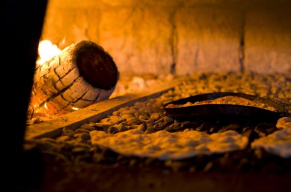 פיתות בתנור, המושבה הגרמנית