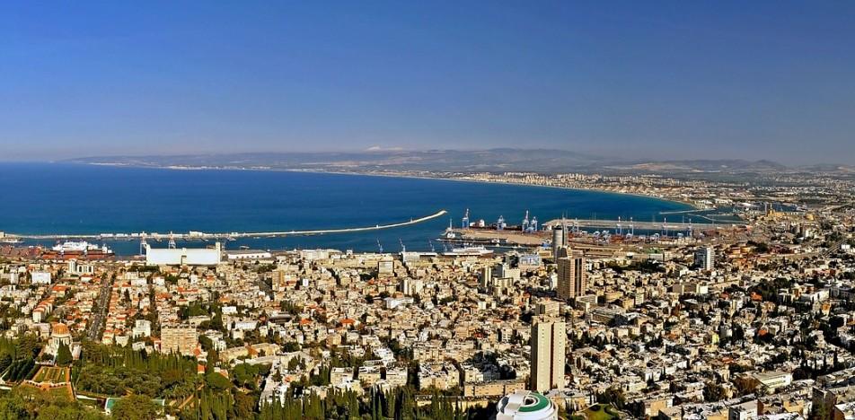 תמונה פנורמית חיפה